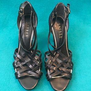 Lauren Ralph Lauren Strappy Hurache-Style Heels 8